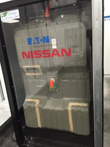 Le pack de batteries Nissan